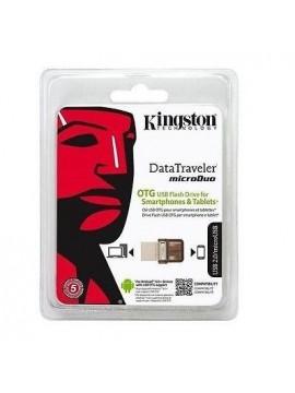 Pendrive 64Gb Kingston MicroDuo Otg Smartphones y Tablets (Remanofacturado)