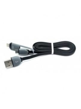 Cable Usb Conector Micro USB y Lightning Biwond