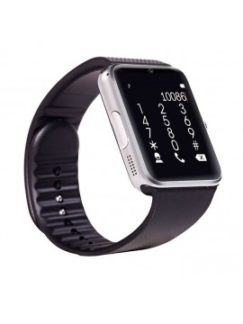 Smartwatch GT08 SIM+SD+Bluetooth Silver Black