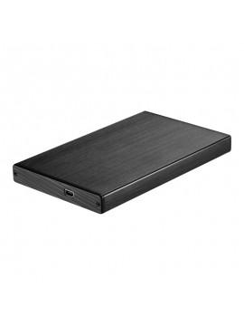 """Caja HDD Tooq Aluminio SATA 2,5"""" TQE-2507b"""
