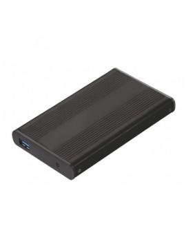 """Caja HDD Tooq Aluminio SATA 2,5"""" USB 3,0 TQE-2524B"""