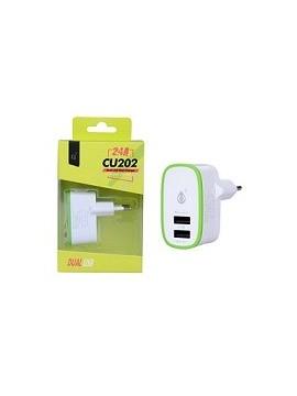 Cargador USB Doble 5V 2,4 A