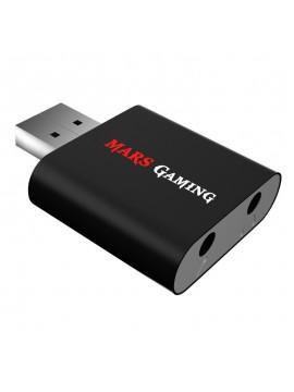 Tarjeta Sonido USB Mars Gaming 7,1