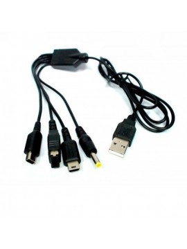 Cable USB Carga Multiconsola
