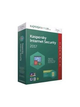 Antivirus Kaspersky Internet Security 2017 2PC/1año