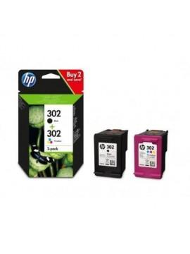 Tinta Original HP Pack 302 Color y Negro