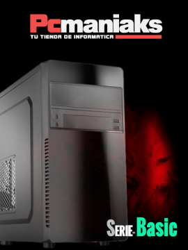 Ordenador Pc-Maniaks Basic H-110 Intel Core i3-7100 1TB 4Gb Usb3,0 Hdmi