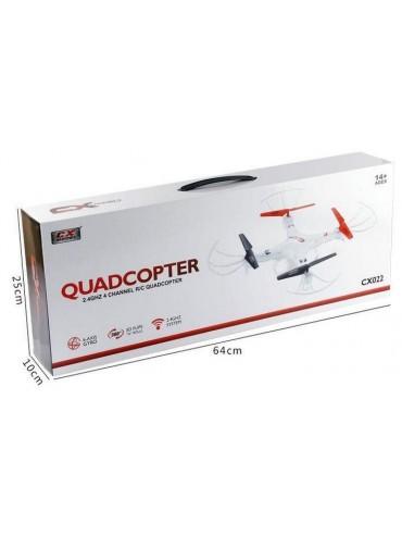 Cuadricóptero CX Modelo 036 Camara HD Blanco