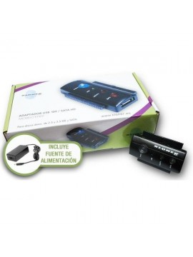 "Adaptador USB A IDE/SATA 3.5""O 2.5"" Biwond"